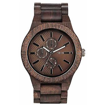 WeWood Kos Choco Gun | Wood Strap | 70105516 Watch