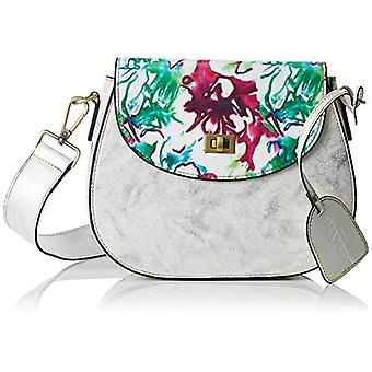 Laura Vita 2613 - White Donna Shoulder Bags (Blanco) 6.0x18.0x23.0 cm (W x H L)
