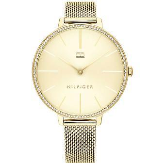 Tommy Hilfiger | Women's Kelly | Gold Mesh Bracelet | Gold Dial | 1782114 Watch