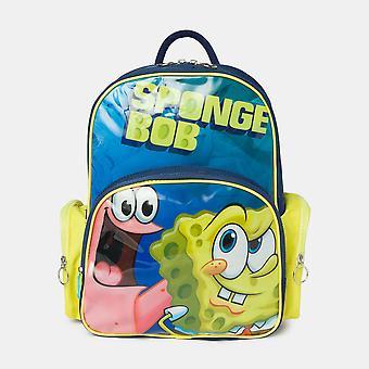 Sponge Bob Mini School Backpack Contoured