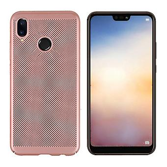 Cover Mesh Holes for Huawei P20 Lite rose Gold