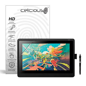 Celicious Vivid Film Protector Compatible with Wacom Cintiq 16 (DTK-1660) [Pack of 2]