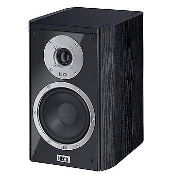 Heco musiikkityylin 200, 2 tapa bass reflex, musta, 140 wattia Max 1 pari uusia tavaroita