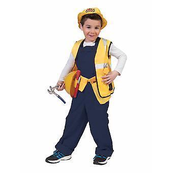 Slacks Train Driver Boy Costume Construction Worker Pants Poikien puku