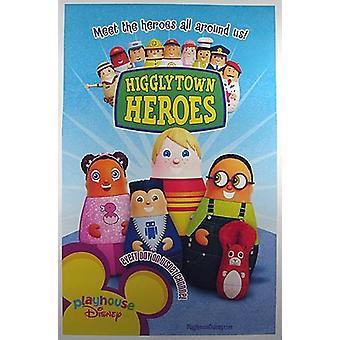 أبطال هيغليتاون (من جانب واحد) ملصق السينما الأصلي