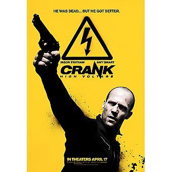 Crank: High Voltage (2009) Original Cinema Poster