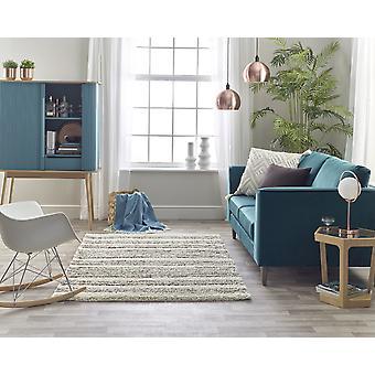 Andante 7564A Dunkle beige weiße Rechteck Teppiche traditionelle Teppiche