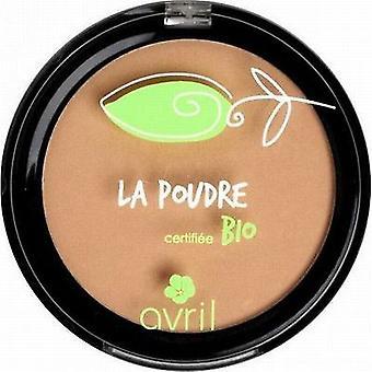 Avril kosmetikk organisk trykket pulver kompakt Foundation - lys