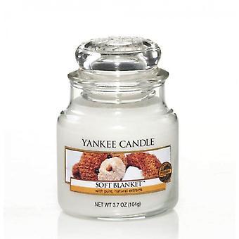 Cobertor macio pequeno clássico do frasco da vela de Yankee 104g