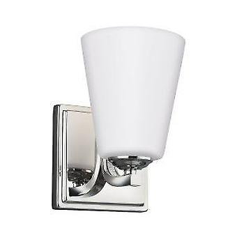 Elstead Pave 1 Light Wall Light Polished Nickel FE-PAVE1