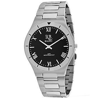 Roberto Bianci Men's Eterno Black Dial Uhr - RB0312