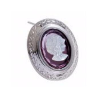 MAKUTI Sterling Silver Cameo Brooch