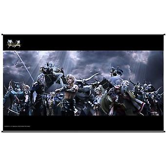 Wall Scroll-Final Fantasy-Dissidia 012 kaos