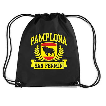 Black backpack dec0505 pamplona san fermin