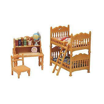 Sylvanian Families - Children's Bedroom Set Toy