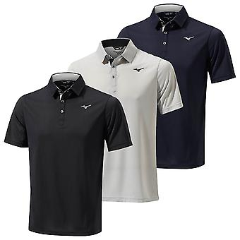 Mizuno Mens Golf Breath Thermo Short Sleeve Polo Shirt