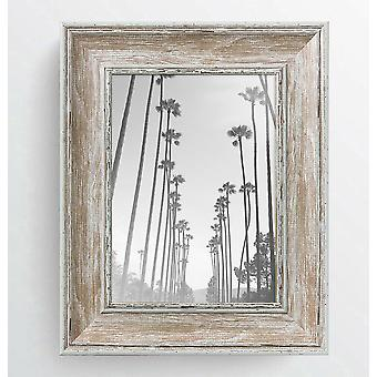 Shabby Chic Light Wood Photo Frame Madison Picture Poster Wide Distressed Wall Mounted