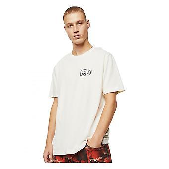 Diesel T bare Vintt shirt Cream