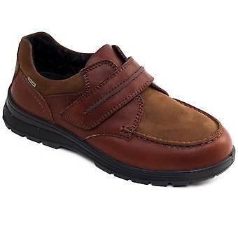 بدرس تريك أحذية جلدية رجالي للماء