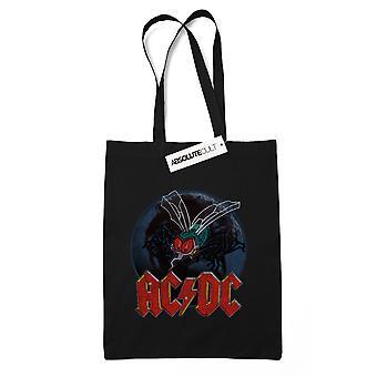 AC/DC lentää seinään Tote laukku