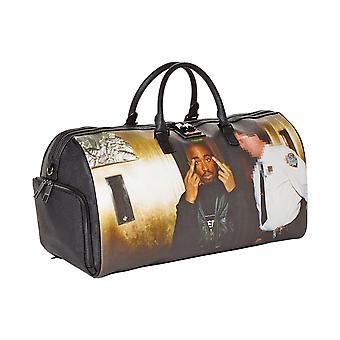 Sprayground Tupac Middle Finger Duffle Bag