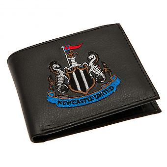 Newcastle United FC carteira bordada