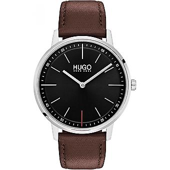 Hugo 1520014 - watch Leather Brown man