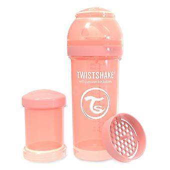 Twistshake Baby Bottle Anticolic 260Ml - Pastel Peach