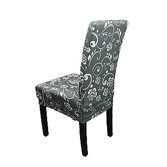 FP8 - Floral Printed Short Spandex Chair Cover