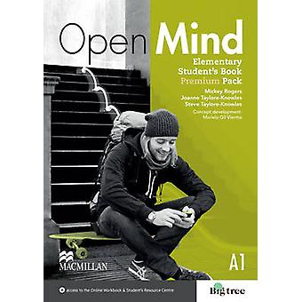 Open Mind British edition Elementary Level Students Book Pack Premium by Mickey Rogers & Joanne Taylore Knowles & Steve Taylore Knowles