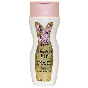 VIP door Playboy Playboy Body Lotion 24H hydraterende 400ml kostbare orchidee geur gloeien