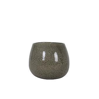 Light & Living Vase 20x16cm Mumbulla Glass Brown