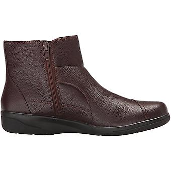 CLARKS Womens Cheyn Work Leather Closed Toe Ankle Fashion Boots