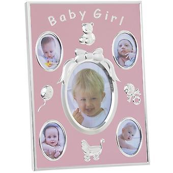 Baby-Mädchen-Fotorahmen