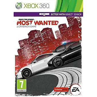 Need For Speed Most Wanted Xbox 360 Game