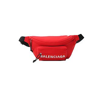 Balenciaga 533009hpg1x6470 Mænd's Red Polyester Pouch