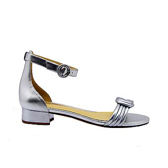 Alexandre Birman Vicky30silver Kvinnor's Silver läder sandaler