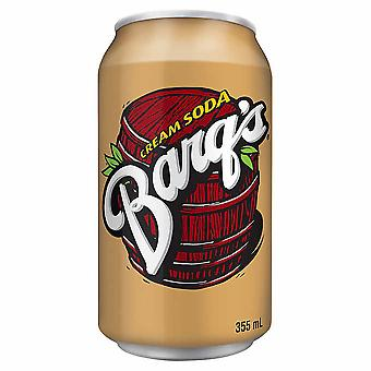 Barqs Cream Soda Cans -( 355 Ml X 12 Cans )