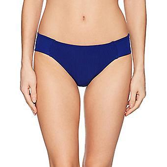 La Blanca Women's Side Shirred Hipster Bikini Swimsuit Bottom,, Blue, Size 6.0