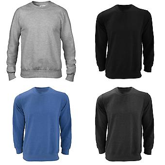 Anvil Mens Crew Neck French Terry Sweatshirt