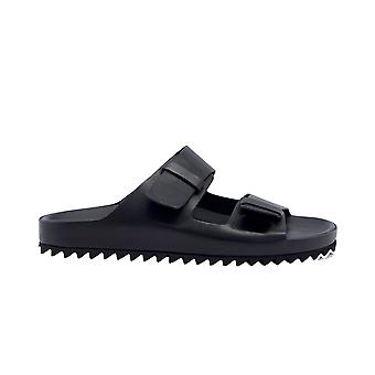 Officine Creative Agora002nero Men's Black Leather Sandals