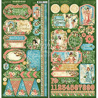 """الفرح إلى ملصقات البطاقات العالمية 12 & quot;X12"""""""