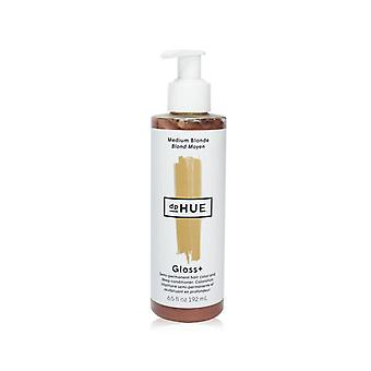 Dphue Gloss+ Semi-permanente haarkleur en diepe conditioner - # Medium Blonde - 192ml/6.5oz