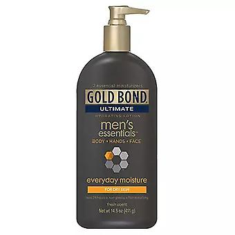 Gold bond ultimate men's essentials lotion, 14.5 oz