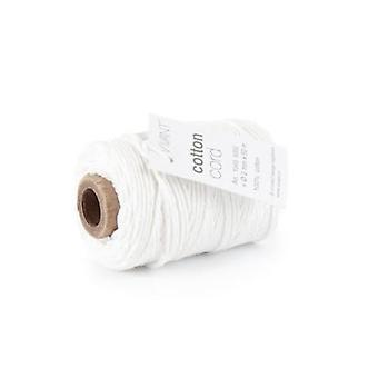 Vivant Cord Cotton fine white - 50 MT 2MM