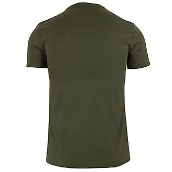 Ralph lauren men's green t-shirt