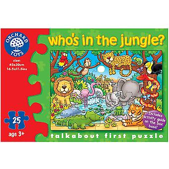 Who's In The Jungle? Puzzle