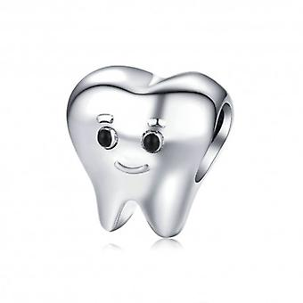 Sterling Silver Charm Lovely Tooth - 6403