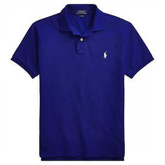 Polo Ralph Lauren Ralph Lauren Polo Heritage Sininen Lyhythihainen Slim Fit Polo T-paita 710536856