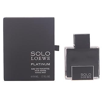 Loewe Solo Loewe Platinum Edt Spray 50 Ml For Men